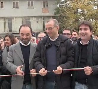 Inaugurazione del nuovo capannone della cooperativa sociale T41B