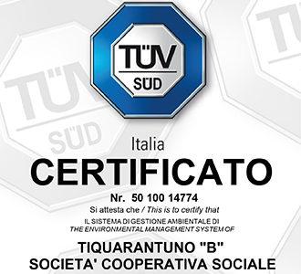 T41B ottiene la certificazione ambientale UNI EN ISO 14001 2015
